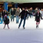 Skating at Robson Square Vancouver