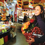 Shopping at Granville Island Public Market