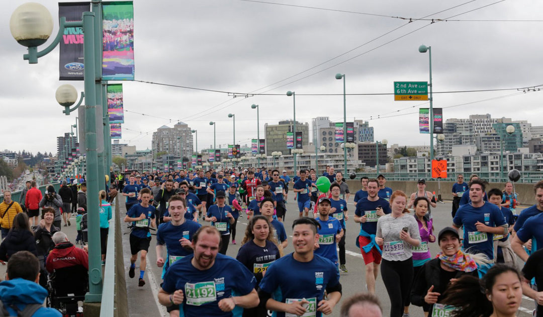 Upcoming Event: Vancouver Sun Run – April 22, 2018