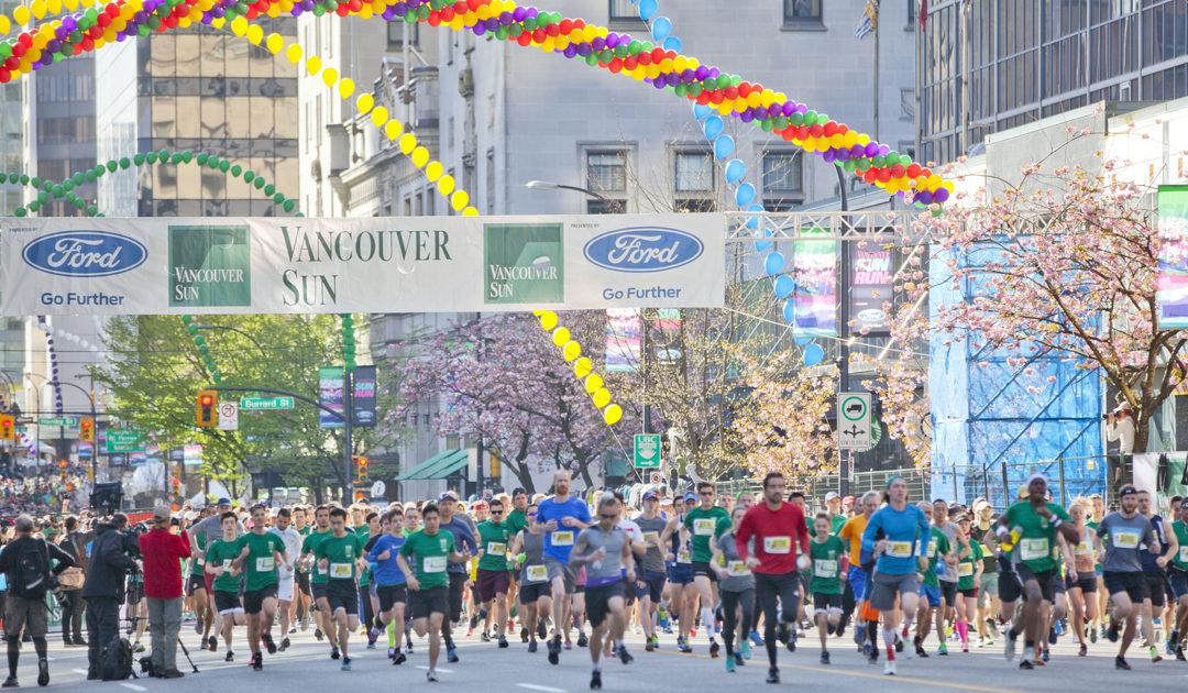 Upcoming Event: Vancouver Sun Run – April 14, 2019