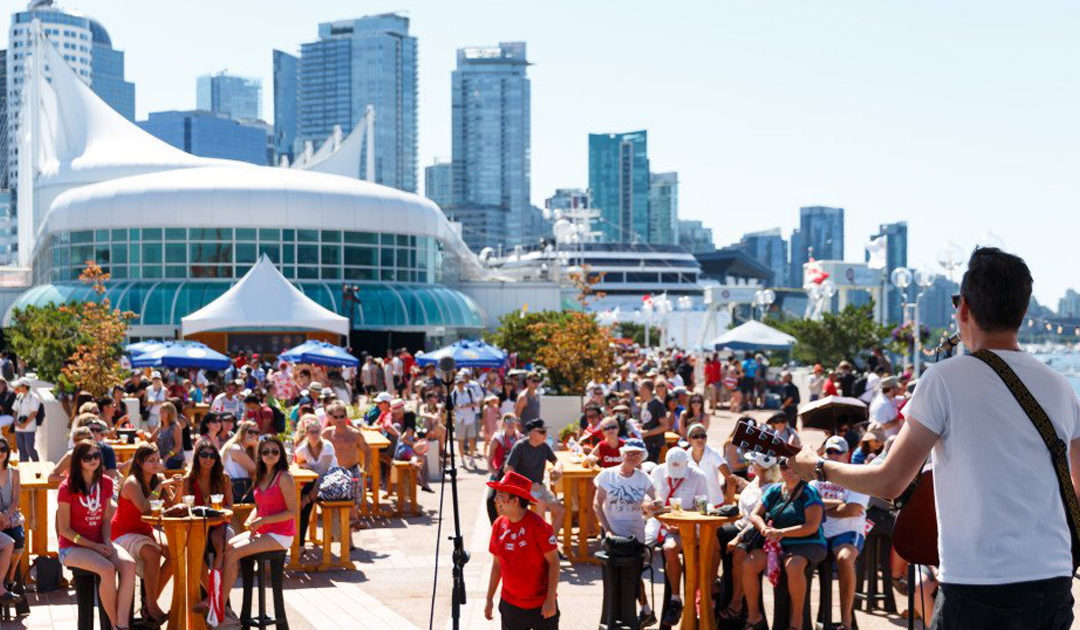 Upcoming Event: Canada Day in Vancouver, July 1