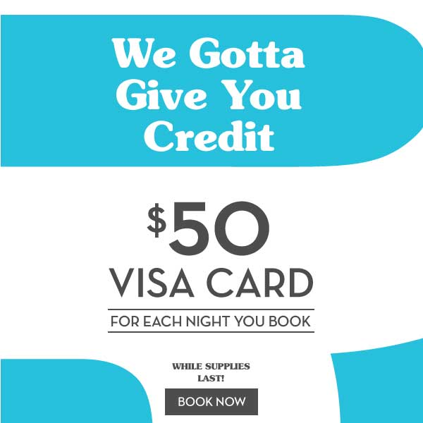 Get $50 Visa gift card when you book at The Burrard